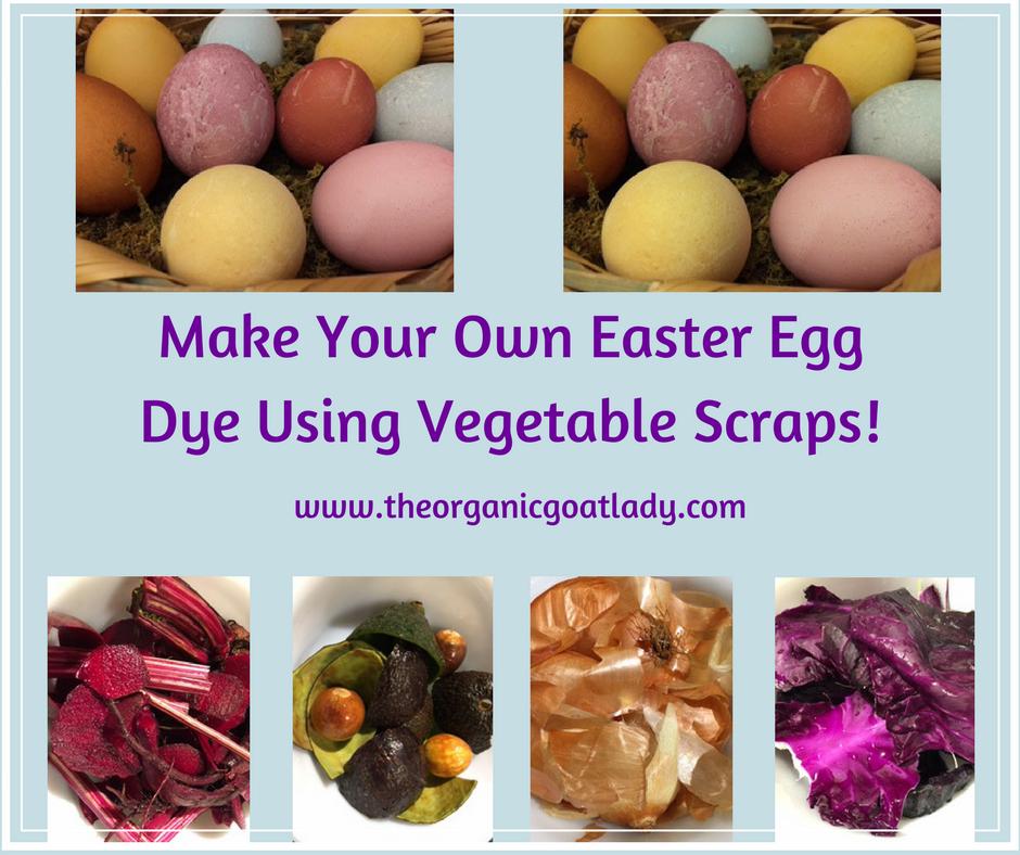 Homemade Easter Egg Dye!