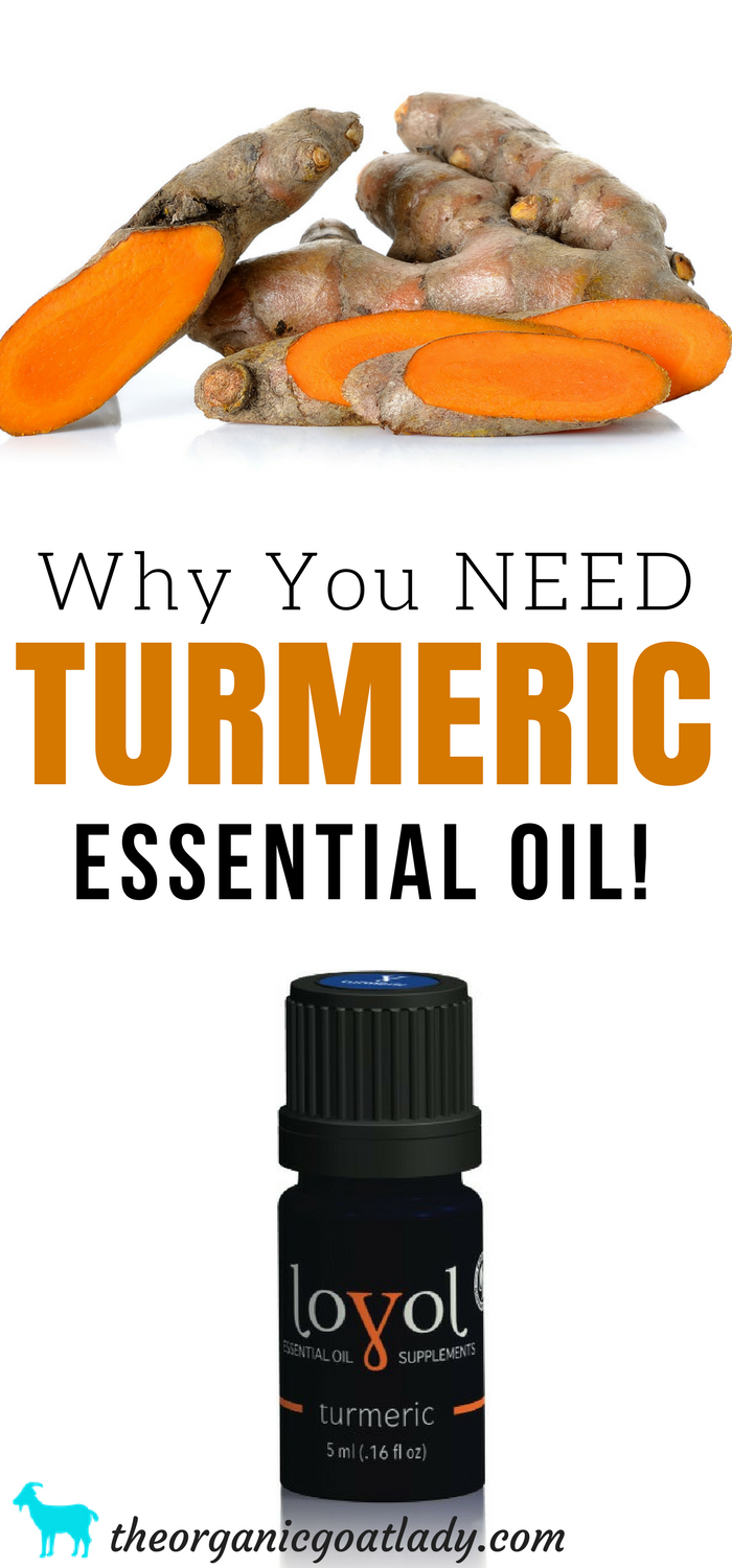 Why You NEED Turmeric Essential Oil
