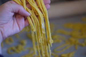 How To Make Homemade Pasta Noodles!