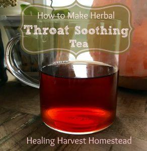 Throat Soothing Tea