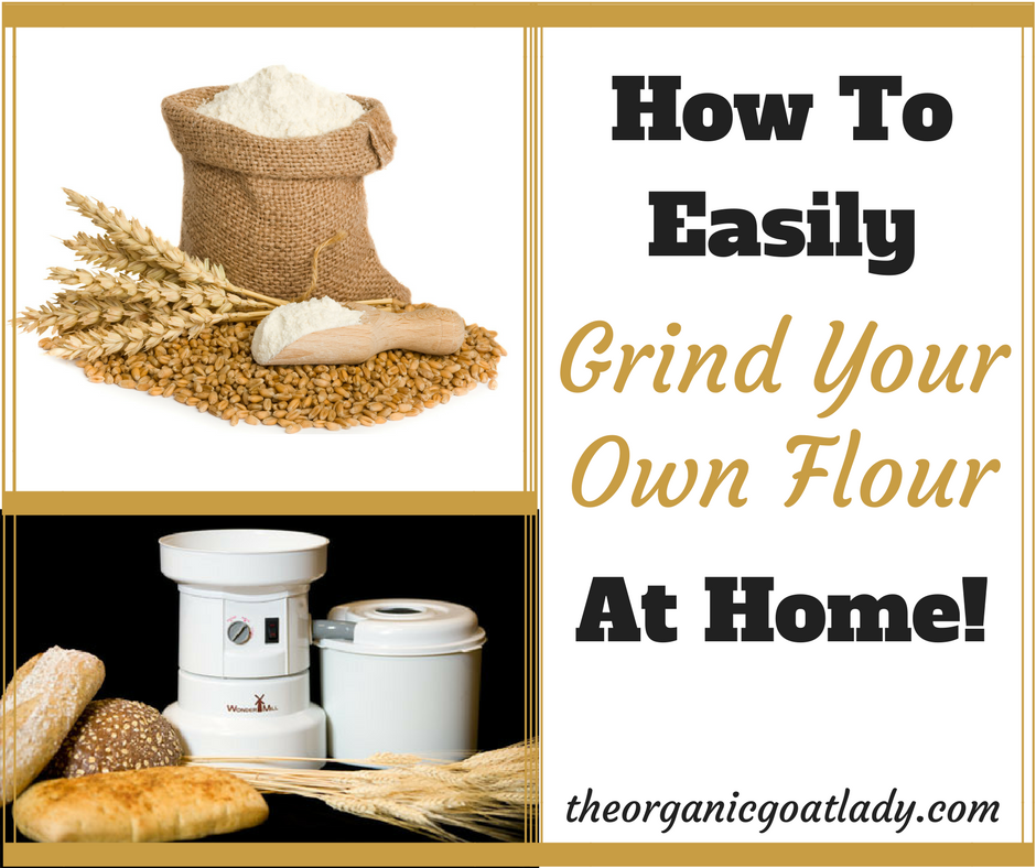How To Make Flour Using A Grain Mill