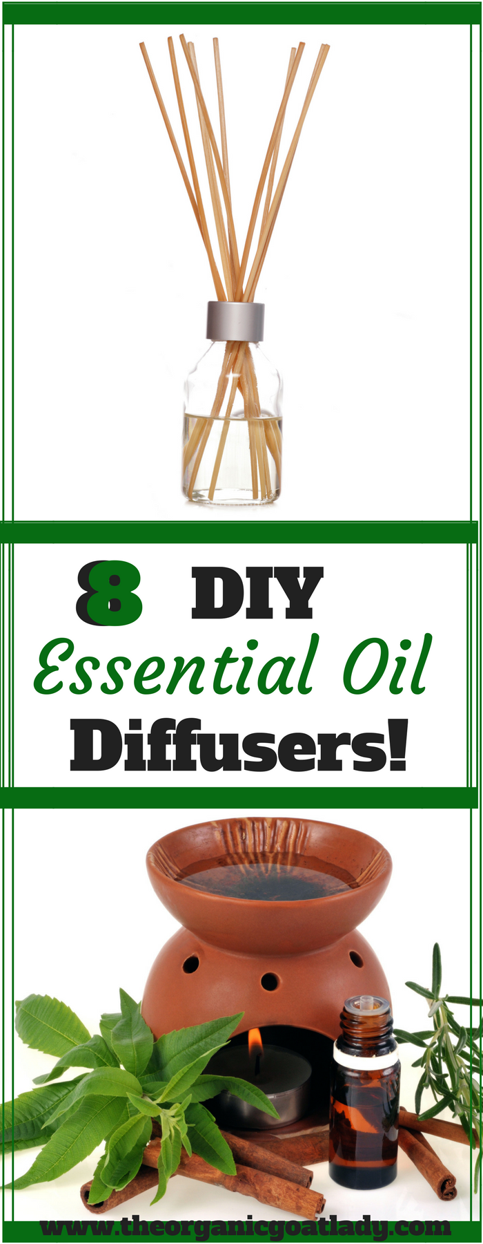 8 DIY Essential Oil Diffusers!
