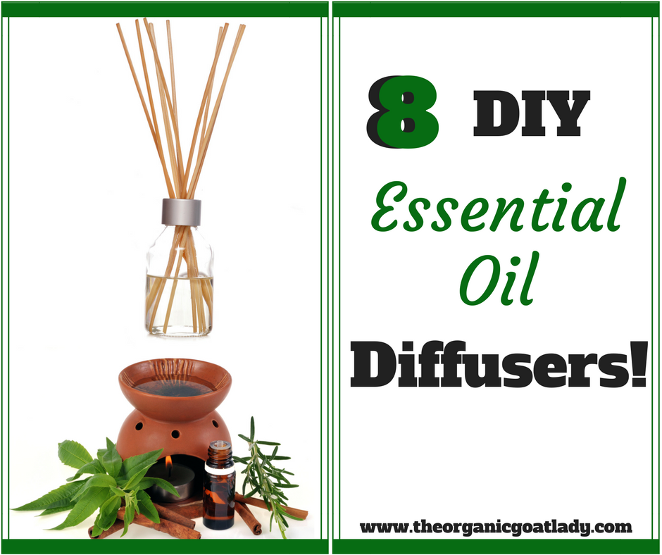 8 DIY Diffuser Ideas!