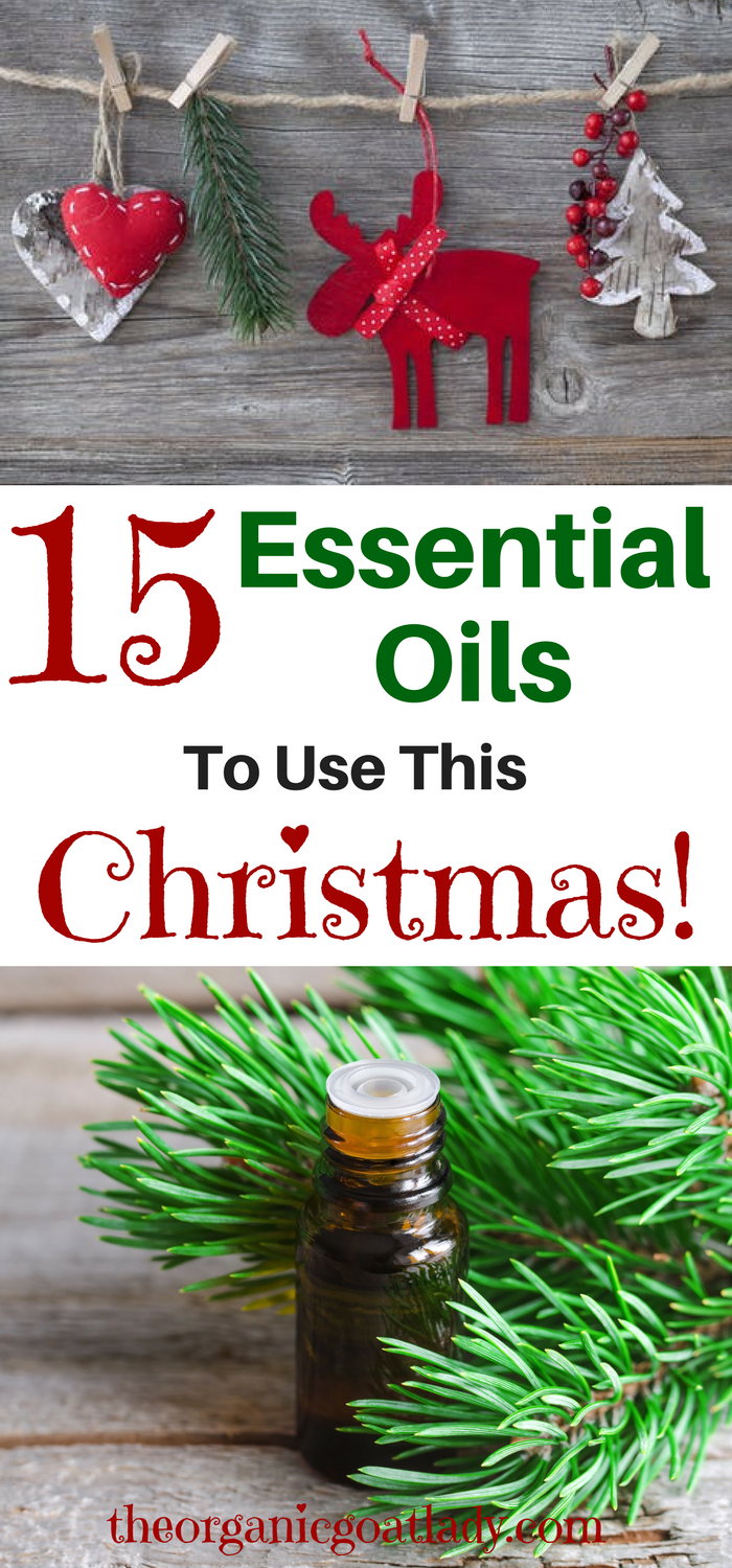 15 Essential Oils To Use This Christmas!