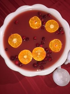 Kombucha Christmas Punch