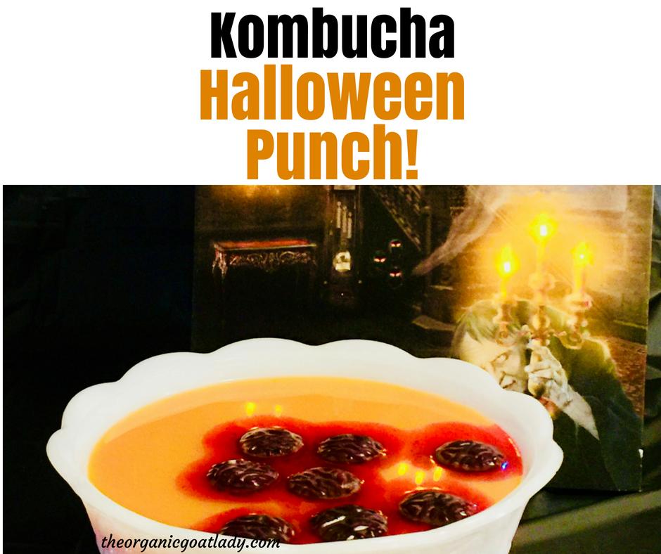 Kombucha Halloween Punch!