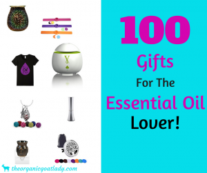 100 Gifts For The Essential Oil Lover!