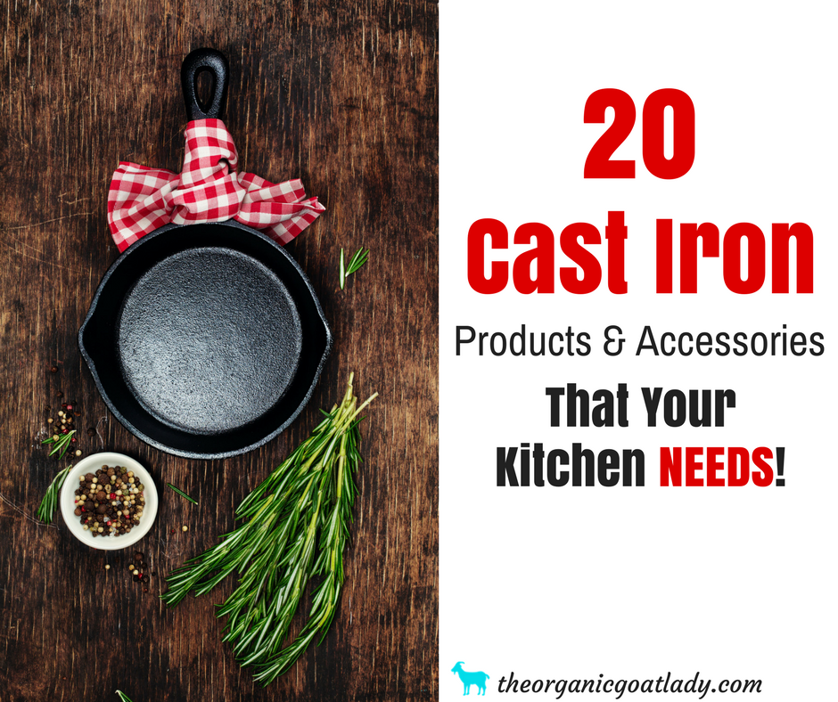 20 More Cast Iron Products And Accessories That You NEED!