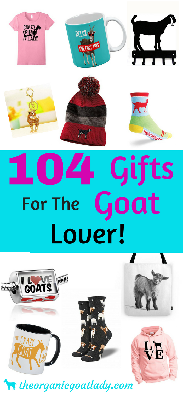 104 Gifts For The Goat Lover!