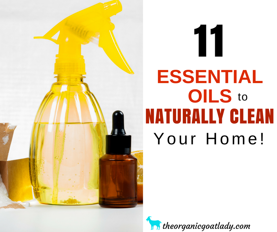 11 Essential Oils For Cleaning Your Home Naturally! - The ...