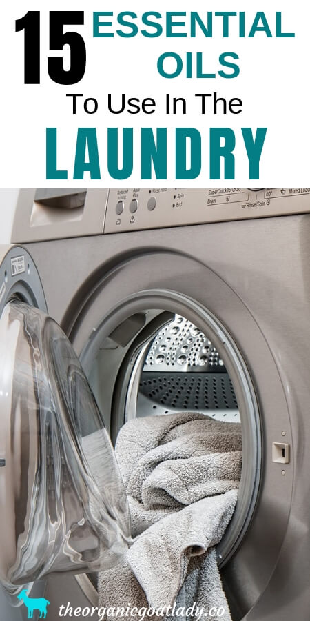 Essential Oils in Laundry