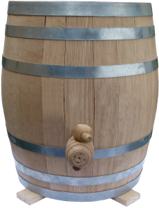 Oak Barrel Kombucha Continuous Brew Vessel