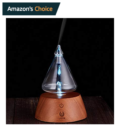 Amazon's Choice Ultrasonic Essential Oil Diffuser
