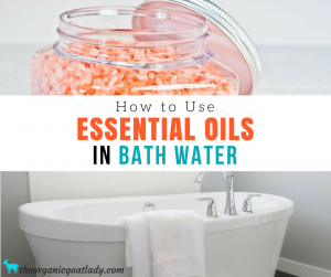 Essential Oils In Bath