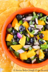 Blueberry Mango Salsa