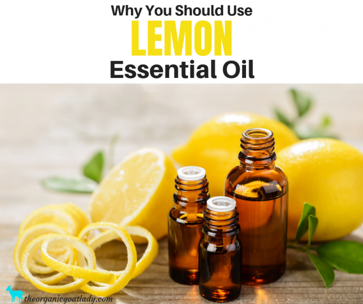 Why You Should Use Lemon Essential Oil