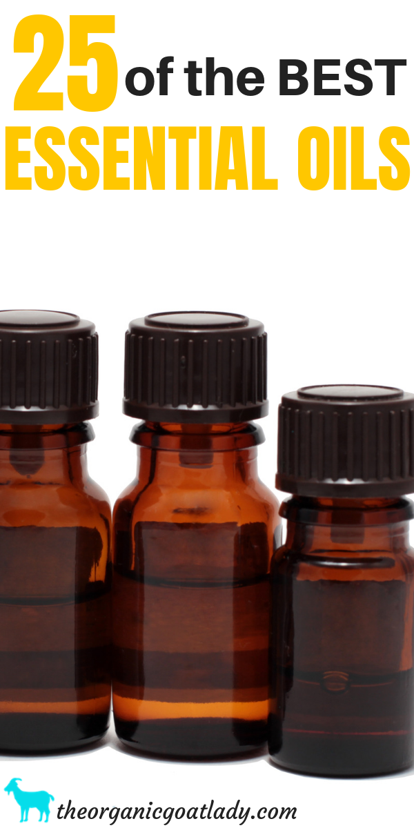 25 of the Best Essential Oils