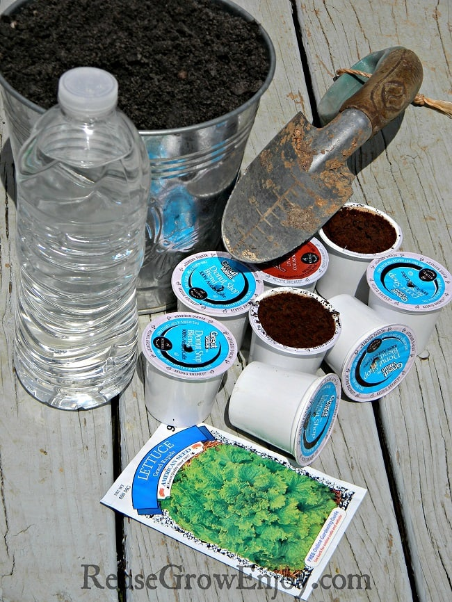 K-cup Uses DIY Plant Starters