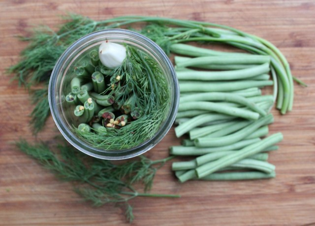 Pickled Dilly Beans (Dill Pickled Green Beans)