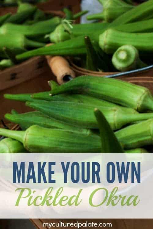 Pickled Okra Recipe   How to Pickle Okra