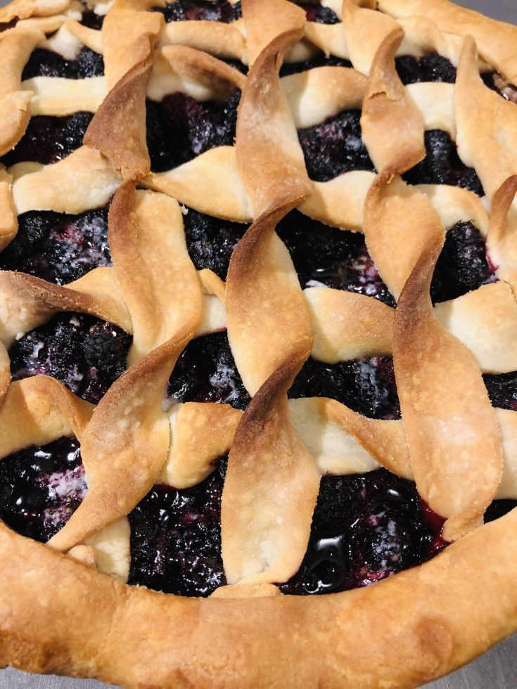The Best Mulberry Pie Recipe!