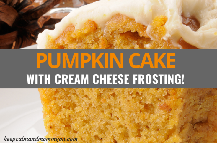 How to Make Pumpkin Cake With Cream Cheese Frosting!
