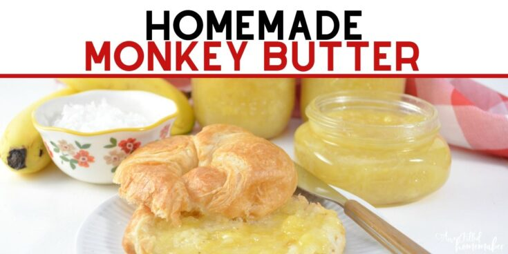 Homemade Monkey Butter