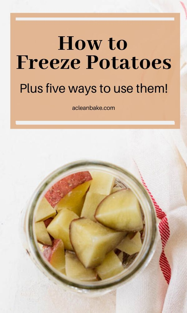 How to Freeze Potatoes - Plus, 5 Ways to Use Frozen Potatoes