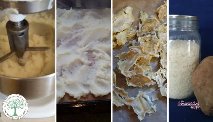How to Make Dehydrated Potato Flakes from Scratch