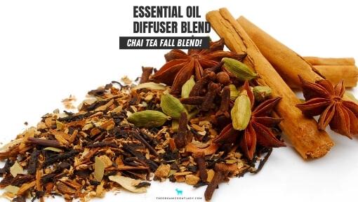 Chai Tea Essential Oil Diffuser Blend